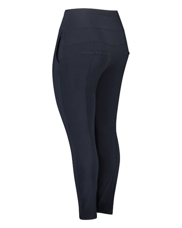 Plus basics jogger pant in zwart en navy