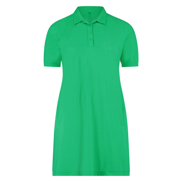 Polo dress zwart